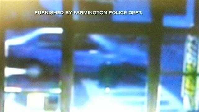 Farmington police search for hit and run driver