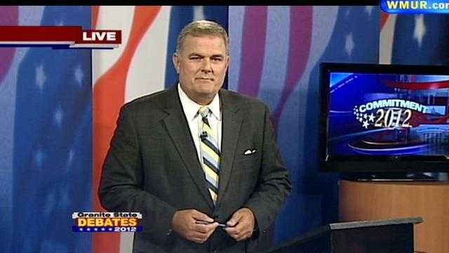 News 9's Tom Griffith moderated the debate.