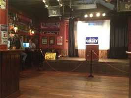 Still quiet at Cilley campaign HQ as of 7:50 p.m.