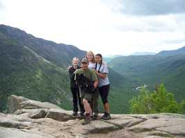 7. Mt. Willard in Crawford Notch.