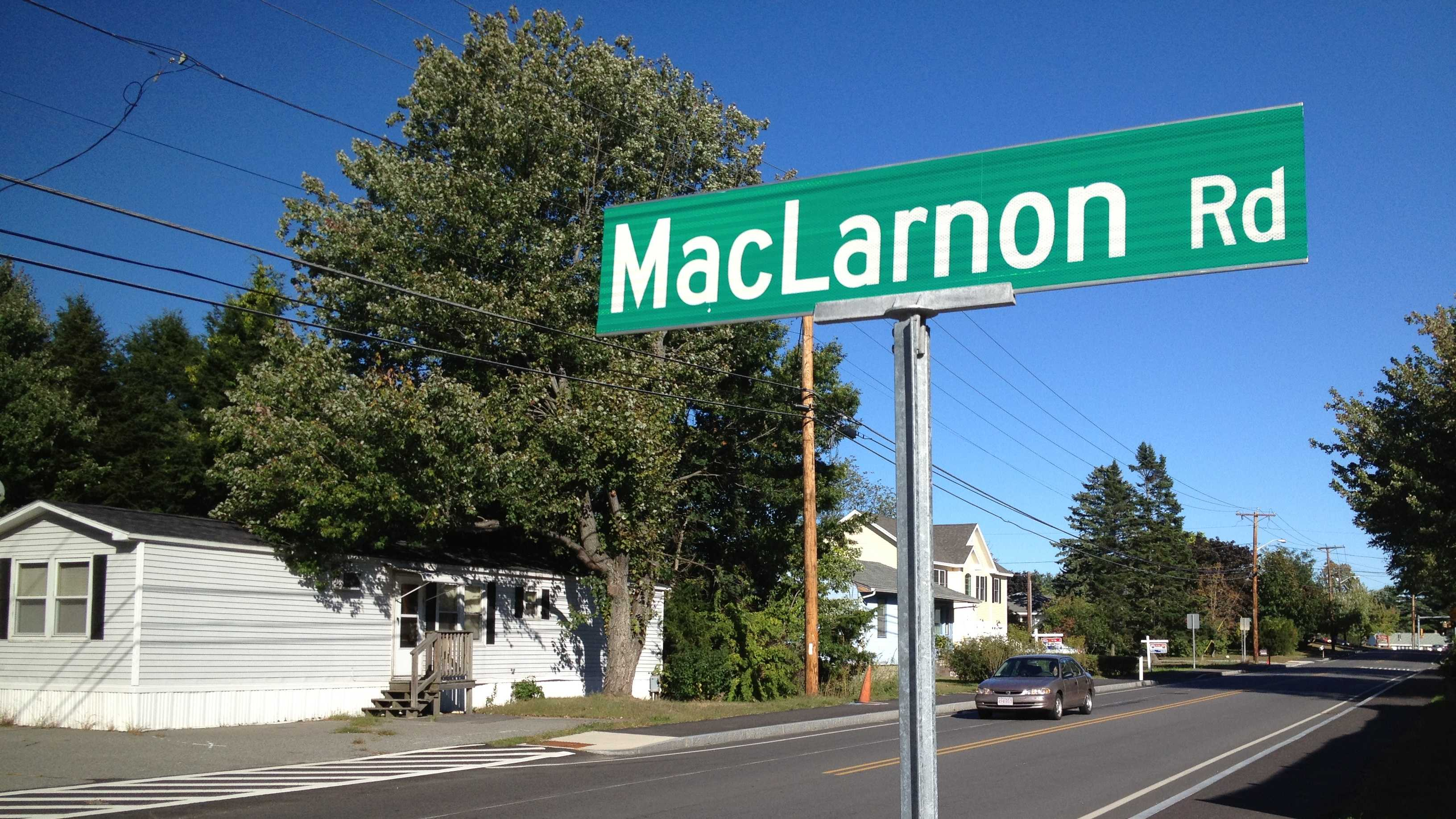 Salem police investigate reports of shots fired on MacLarnon Road.