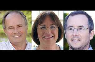 Charlie Bass (R), Annie Kuster (D) and Hardy Macia (L) are vying for the seat in the second Congressional district of New Hampshire.2nd CD: Bios | Fun Facts | On The Issues<< Back to elections homepage