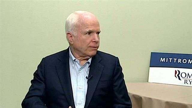 McCain on Romney