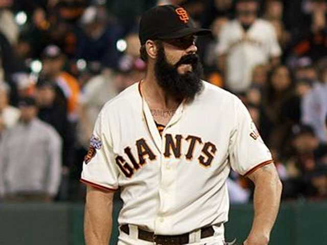 San Francisco Giants closer Brian Wilson was born in Winchester, Mass. but raised in Londonderry, N.H.