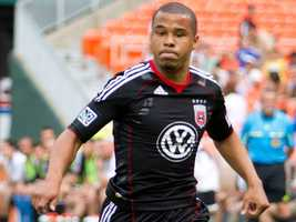 U.S. soccer star Charlie Davies was born in Manchester, N.H. and later played soccer at Boston College. He has played in 19 games for the U.S. national team, but was forced to miss the 2010 World Cup after a horrific car accident in which he suffered severe injuries. He currently plays with a Danish club team, Randers FC.