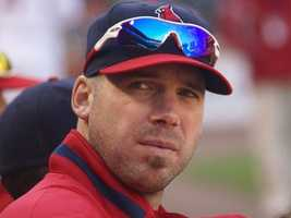 Carpenter won a Cy Young award in 2005 and finished second in the voting in 2009. He won World Series rings with the Cardinals in 2006 and 2011, and has missed the entire 2012 season while battling Thoracic outlet syndrome.