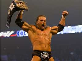 He has wrestled in the WWE since 1995 and is married to company chairman Vince McMahon's daughter, Stephanie.