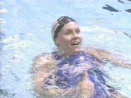 Jenny Thompson, who calls Dover, N.H. her hometown, is one of the most decorated Olympians in history. She won 12 medals, including eight gold medals, in swimming during the Olympics in 1992, 1996, 2000 and 2004.
