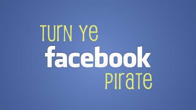 Facebook Pirate Teaser