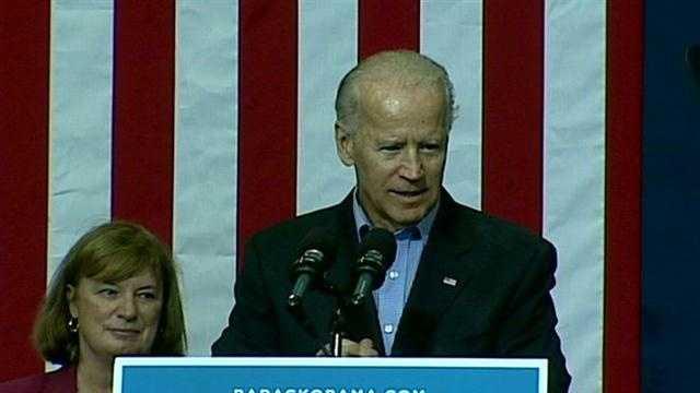 Vice President Joe Biden visited the Granite State.