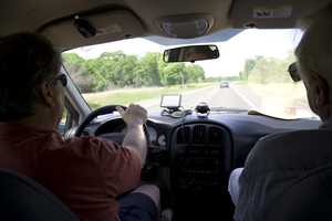 Drivers are not allowed to drive when there are more than 3 people in the front seat.