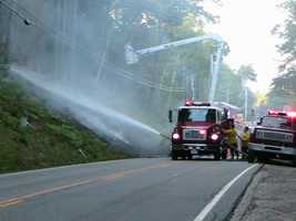 500 feet. Drivers also must not park within a block of a fire engine that has stopped to answer an alarm.