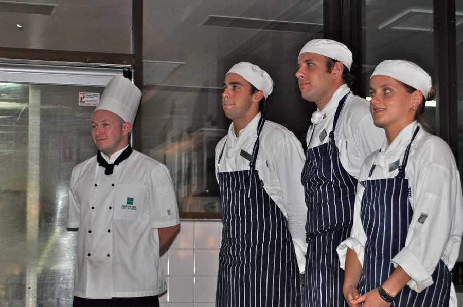 1) Food Preparation/Service Workers