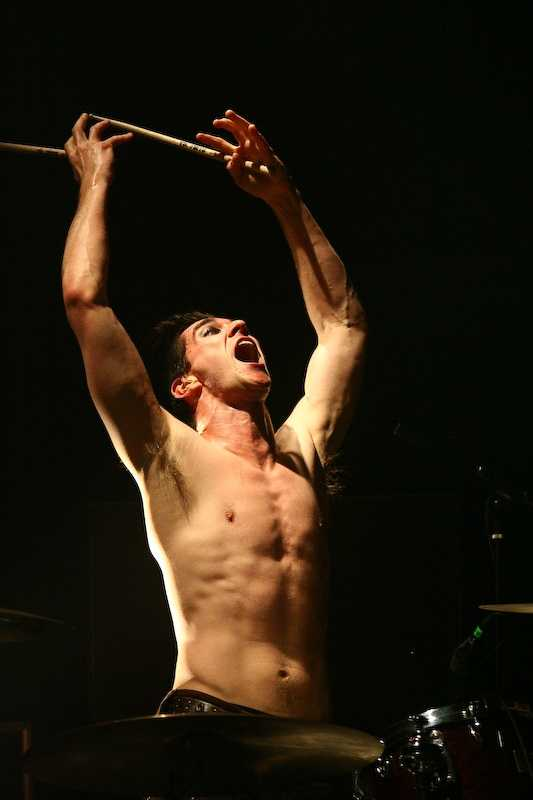 """Brian Viglione is the drummer for the band, """"The Dresden Dolls."""" He was born in Greenville, N.H."""
