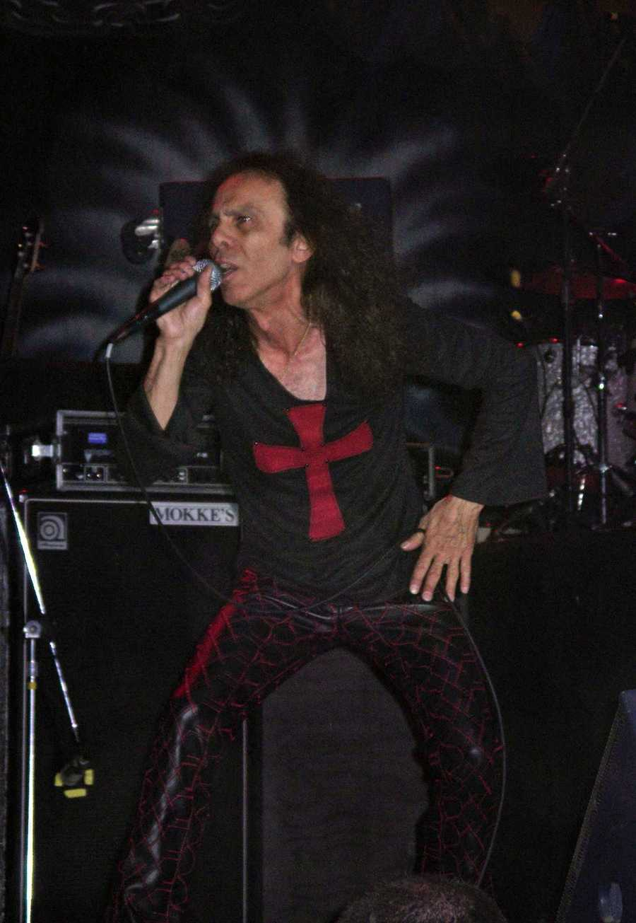 Ronnie James Dio was born in Portsmouth, N.H., but moved with his family to Corland, New York early in his life.The heavy metal singer went on to perform with several bands, including Black Sabbath and his own band, Dio. He died of stomach cancer in 2010.