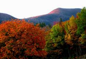 Perhaps the best shot of all from The Kancamagus Highway!