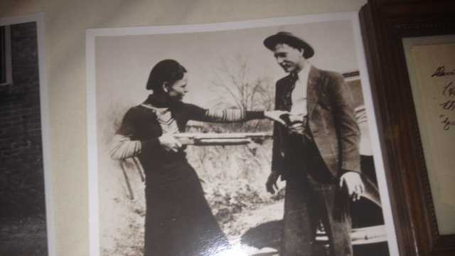 R&R Auctions is auctioning off items once owned by notorious criminals Bonnie Parker and Clyde Barrow. This is the iconic photo that shaped the public perception of the outlaw couple.