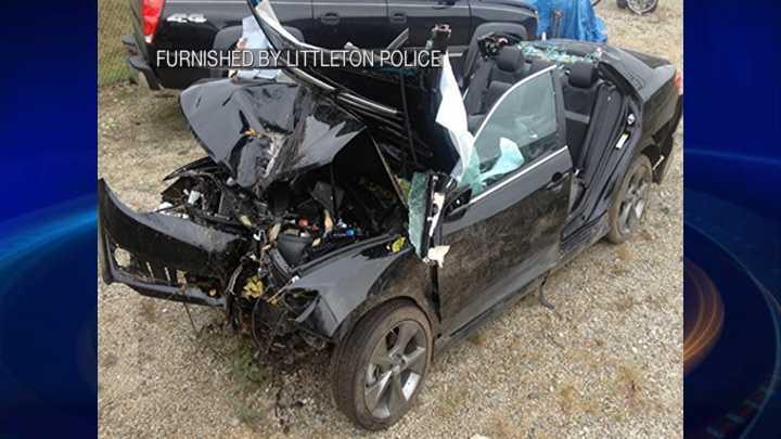 6 injured in Littleton crash