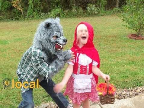 Oh, no! The Big Bad Wolf!