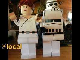 Star Wars Lego characters.