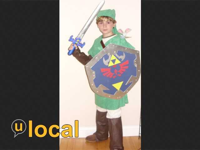 "Here's another character from Nintendo video games: Link, from the series of ""Legend of Zelda"" games."