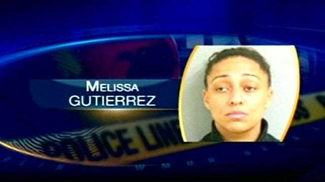 Melissa Gutierrez already faces negligent homicide charges in the death of her son. Now she's accused of shoplifting and driving with a suspended license.