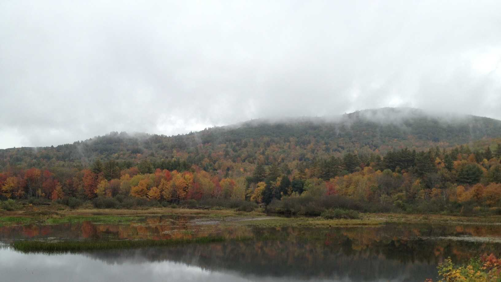 Foliage in Waterville Valley