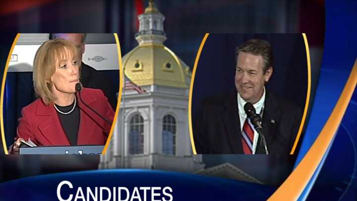 Preview graphic for Lamontagne, Hassan debate