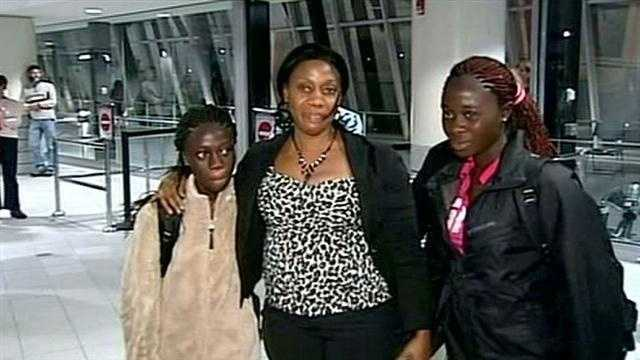 Liberian Family Reunited