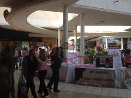 A large bra bank at the Mall of New Hampshire will be the the centerpiece of a month-long fundraiser for the New Hampshire Breast Cancer Coalition.