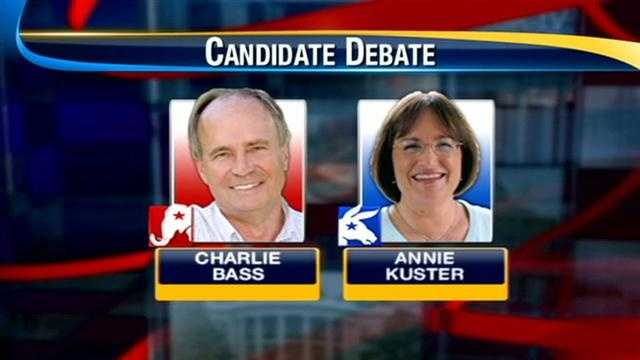 Candidates in Congressional debate trade jabs