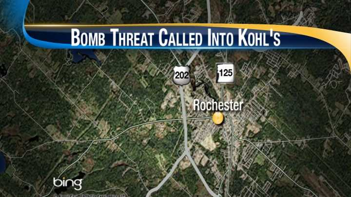 Bomb threat called into Rochester department store