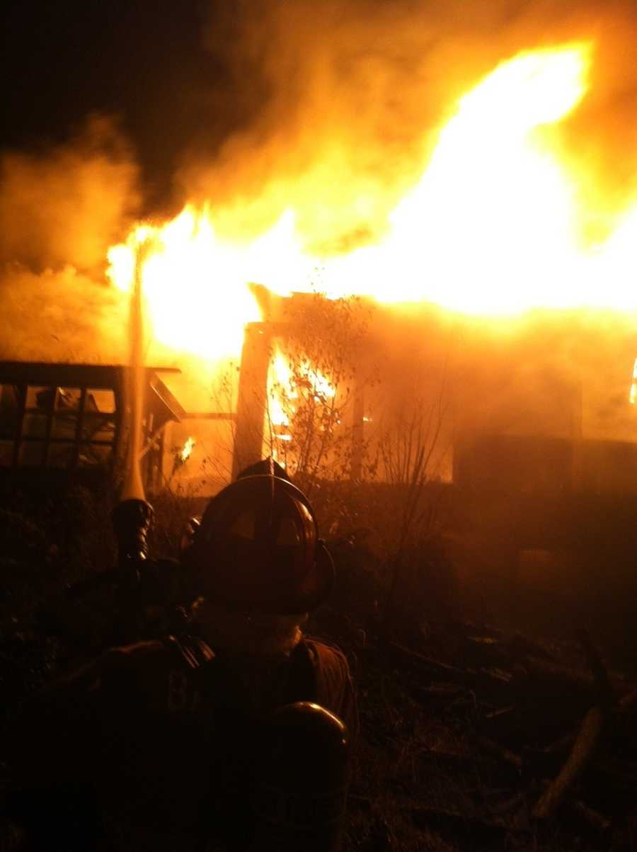 The fire started around 2 a.m. at 50 Main Street.