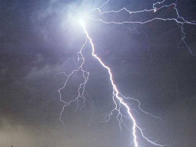 Question 1: How do you measure the distance from a lightning strike? Is it: A) 1 second in between lightning and thunder equals 1 mile&#x3B; B) 5 seconds in between lightning and thunder equals 1 mile&#x3B; or C) 10 seconds in between lightning and thunder equals 1 mile.