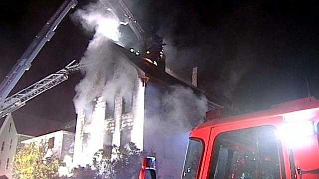 Manchester Green Street fire