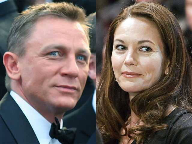 8) Daniel and Diane(Pictured: Actor Daniel Craig and Actress Diane Lane)