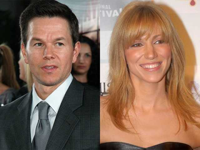6) Mark and Deborah(Pictured: Actor Mark Wahlberg and singer Debbie Gibson)