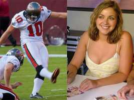 9) Connor and Charlotte(Pictured: NFL kicker Connor Barth and singer Charlotte Church)