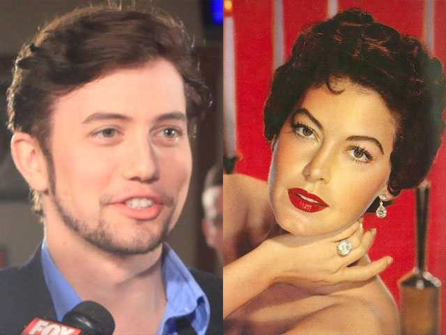 4) Jackson and Ava(Pictured: Actor/musician Jackson Rothbone and actress Ava Gardner)