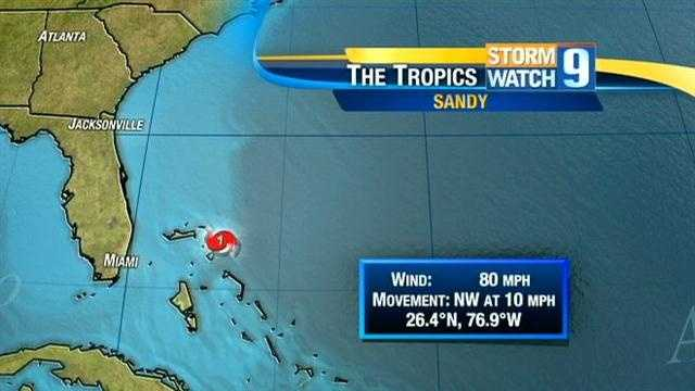 It now appears that Hurricane Sandy will hit the East Coast. Click through to track Sandy.