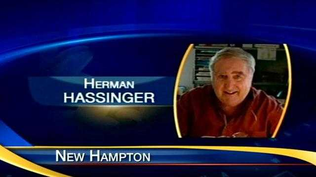 A moment of silence was held Friday in memory of 83-year-old Herman Hassinger at the start of the board of trustees meeting at the New Hampton School.