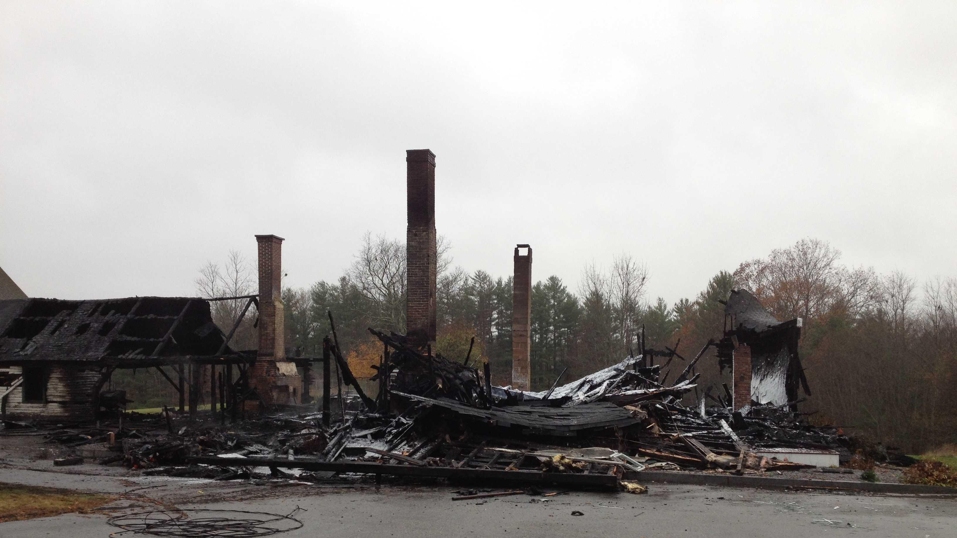 Fire destroys Epsom house