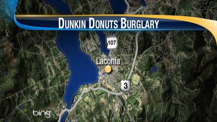 Laconia police search for burglars