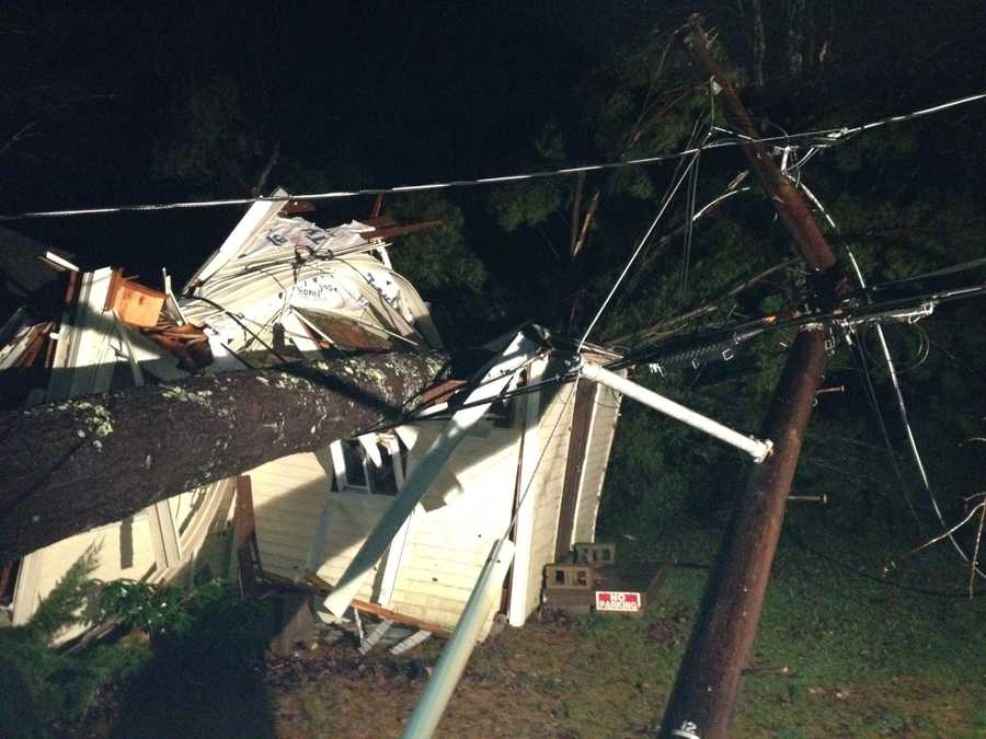 Was that a microburst that hit Franklin, causing this extensive damage?