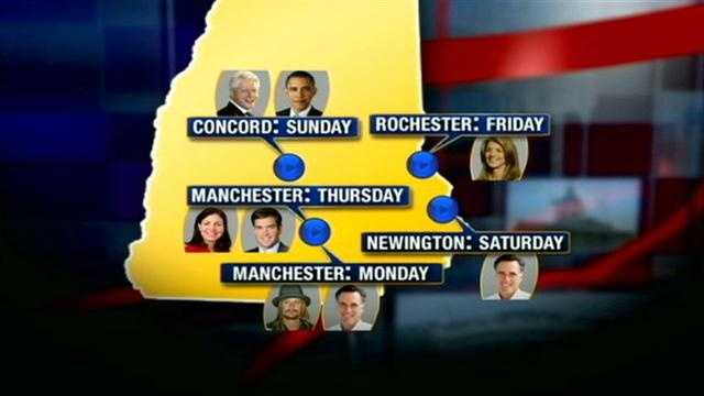 Campaigns focus on NH with days before election