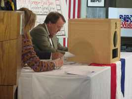 The first votes in the 2012 election were cast in Dixville Notch!
