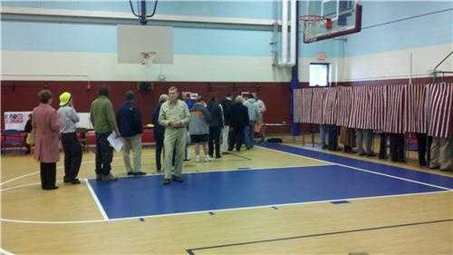 Voting in Concord.