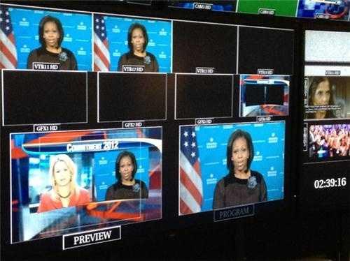 Jen Vaughn interviews First Lady Michelle Obama.