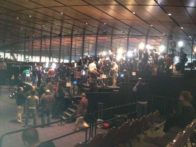 At Romney's headquarters in Boston...