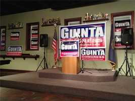 Everything is ready to go at the Guinta campaign.